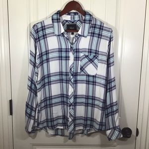 Rails Hunter Plaid Button Down Flannel.